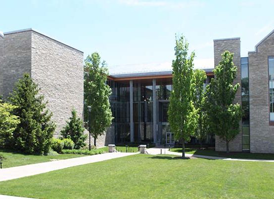 front view of the Doering Center