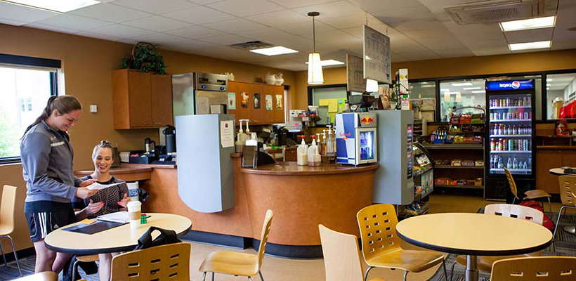 the college cafe